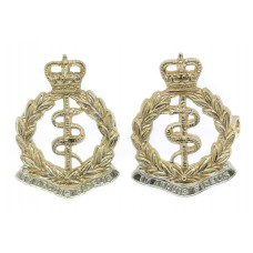 Pair of Royal Army Medical Corps (R.A.M.C.) Anodised (Staybrite)