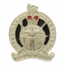 Army Legal Services Officer's Cap Badge - Queen's Crown