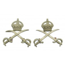 Pair of Army Physical Training Corps (A.P.T.C.) Collar Badges - K