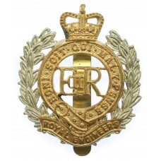 EIIR Royal Engineers Bi-Metal Cap Badge
