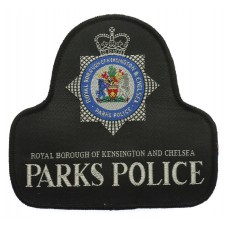 Royal Borough of Kensington & Chelsea Parks Police Cloth Pullover Patch Badge