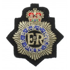 Royal Borough of Kensington & Chelsea Parks Police Bullion Cap Badge - Queen's Crown