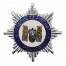 Southend Airport Police Enamelled Cap Badge