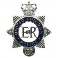 United Kingdom Police Enamelled Epaulette Badge - Queen's Crown
