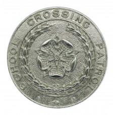 Lancashire Constabulary School Crossing Patrol Cap Badge