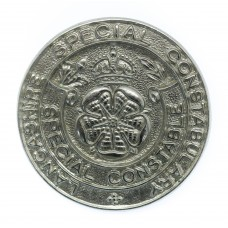Lancashire Special Constabulary Special Constable Cap Badge - King's Crown