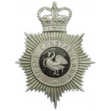 Buckinghamshire Constabulary Helmet Plate - Queen's Crown