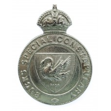 Buckinghamshire Special Constabulary Cap Badge - King's Crown