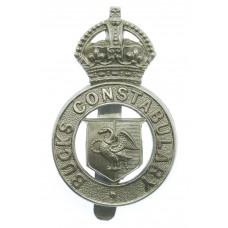 Buckinghamshire Constabulary Cap Badge - King's Crown