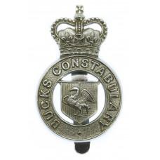 Buckinghamshire Constabulary Cap Badge - Queen's Crown