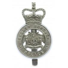 Dudley Borough Police Cap Badge - Queen's Crown