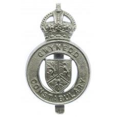 Gwynedd Constabulary Cap Badge - King's Crown