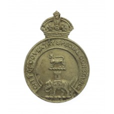Coventry Special Constabulary Lapel Badge - King's Crown