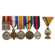 Boer War and WW1 Medal Group of Six - Brigadier General J.A. Bell-Smyth, Commanding Officer, 1st Dragoon Guards (Awarded the C.M.G. for the Battle of Chateau Hooge)