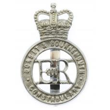 Dorset & Bournemouth Constabulary Cap Badge - Queen's Crown