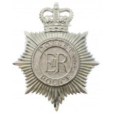Dorset Police Helmet Plate - Queen's Crown