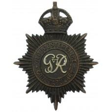 George VI Gloucestershire Constabulary Helmet Plate