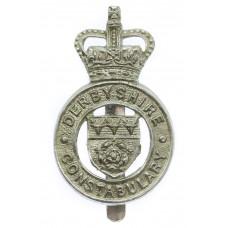 Derbyshire Constabulary Cap Badge - Queen's Crown