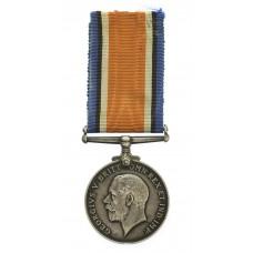 WW1 British War Medal - Pte. T. Charlesworth, 1st/5th Bn. King's