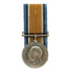 WW1 British War Medal - Pte. J. Andrews, King's Own Yorkshire Lig