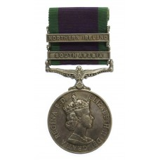 Campaign Service Medal (2 Clasps - South Arabia, Northern Ireland) - Cpl. R. Hogg, Royal Corps of Transport