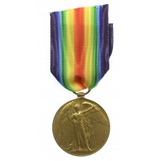 WW1 Victory Medal - Pte. W. Wills, 2nd Bn. Devonshire Regiment