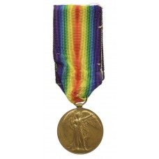 WW1 Victory Medal - Pte. G. Hiscock, Worcestershire Regiment
