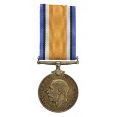 WW1 British War Medal - Pte. H.J. Mitchelmore, West Riding Regime