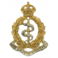 Royal Army Medical Corps (R.A.M.C.) Officer's Cap Badge - King's