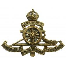 Royal Artillery (Revolving Wheel) Cap Badge - King's Crown
