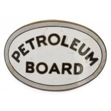 WW2 Petroleum Board Aviation Fuel Drivers Enamelled Cap Badge