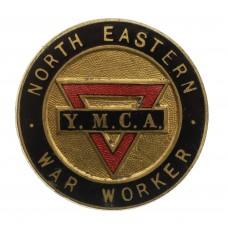 WW2 North Eastern War Worker Y.M.C.A. Enamelled Badge