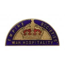 WW2 Empire Societies War Hospitality Badge