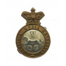 Victorian 5th Dragoon Guards Collar Badge