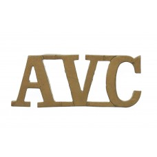 Army Veterinary Corps (A.V.C.) Shoulder Title