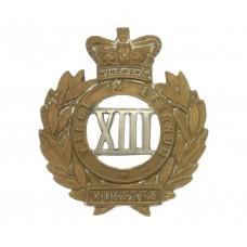 Victorian 13th Hussars Collar Badge
