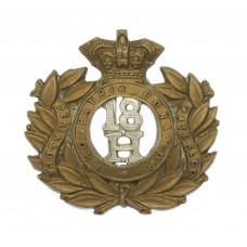 Victorian 18th Hussars Collar Badge