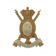 Victorian 6th Dragoon Guards (Carabiniers) Collar Badge