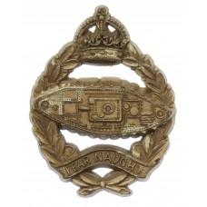 Royal Tank Regiment WW2 Plastic Economy Cap Badge