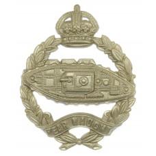 Royal Tank Regiment Cap Badge - King's Crown