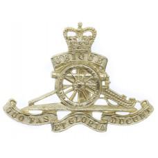 Royal Artillery Anodised (Staybrite) Cap Badge