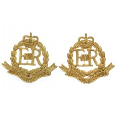 Pair of Royal Military Police (R.M.P.) Collar Badges - Queen's Cr