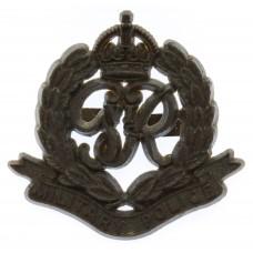 Corps of Military Police WW2 Plastic Economy Cap Badge