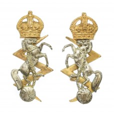 Pair of Royal Electrical & Mechanical Engineers (R.E.M.E.) Of
