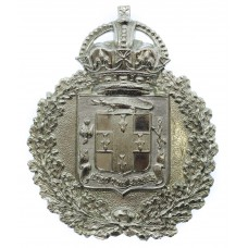 Jamaica Police Helmet Plate - King's Crown