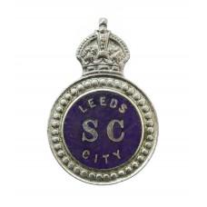 Leeds City Police Special Constabulary Enamelled Lapel Badge - Ki