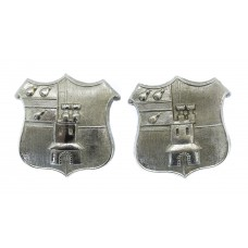 Pair of Worcester City Police Collar Badges