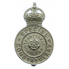 Northamptonshire Special Constabulary Cap Badge - King's Crown