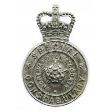 Northampton & County Special Constabulary Cap Badge - Queen's