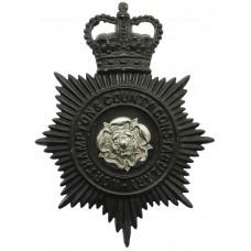 Northampton & County Constabulary Night Helmet Plate - Queen'